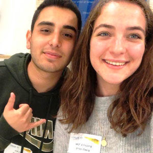 Shaked Birenboim and Guy Nachum are the Israeli teens currently serving in the Shinshinim program in St. Louis. Read more about Guy and Shaked, as well as past Shinshinim on the Jewish Federation's website: http://bit.ly/Shinshinim-STL.