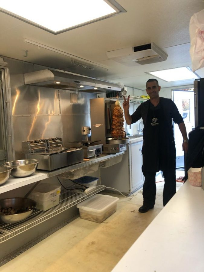 Roni Burgana and his wife, Sharon, have opened a new kosher food truck in St. Louis