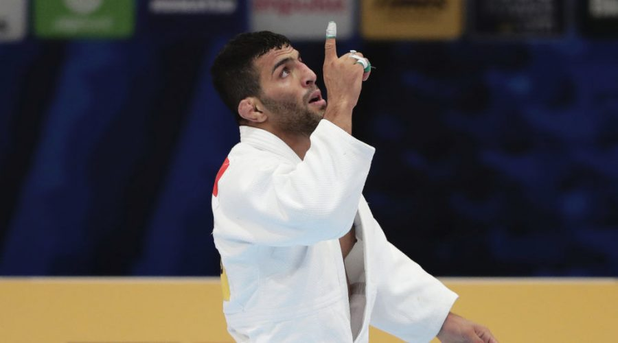 Iranian+judoka+Saeid+Mollaei+reacts+after+a+victory+at+the+World+Judo+Championships+in+Tokyo%2C+Aug.+28%2C+2019.+Photo%3A+Kiyoshi+Ota%2FGetty+Images%C2%A0