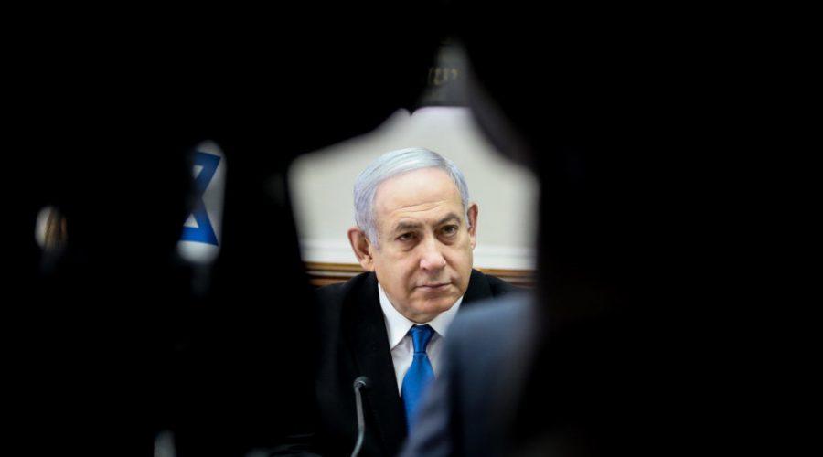 Israeli+prime+minister+Benjamin+Netanyahu+leads+the+weekly+cabinet+meeting+at+his+office+in+Jerusalem%2C+Dec.+1%2C+2019.+Photo%3A+Marc+Israel+Sellem%2FPool%2FFlash90