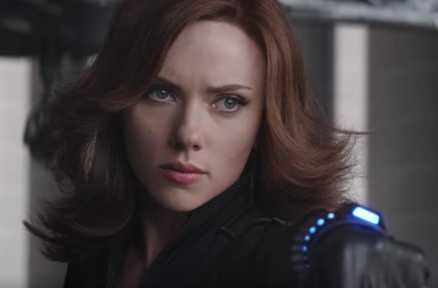 Scarlett+Johansson+as+the+Black+Widow+superhero+%28Screenshot+from+YouTube%29