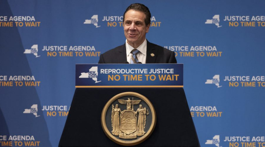 New+York+Gov.+Andrew+Cuomo%2C+shown+in+January+2019%2C+said+that+%22With+anti-Semitism+and+hate+crimes+on+the+rise%2C%22+his+administration+would+%22do+all+we+can+to+protect+our+communities+against+the+threats+we+face.%22+%28Lev+Radin%2FPacific+Press%2FLightRocket+via+Getty+Images%29