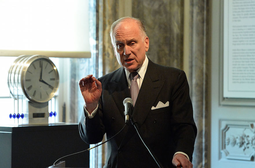 Ronald+Lauder%2C+seen+in+2015%2C+is+a+longtime+Republican+donor%2C+but+said+his+new+group+would+go+after+both+Democrats+and+Republicans+who+traffic+in+anti-Semitic+language+and+tropes.+%28Slaven+Vlasic%2FGetty+Images+for+The+Weinstein+Company%2C%29