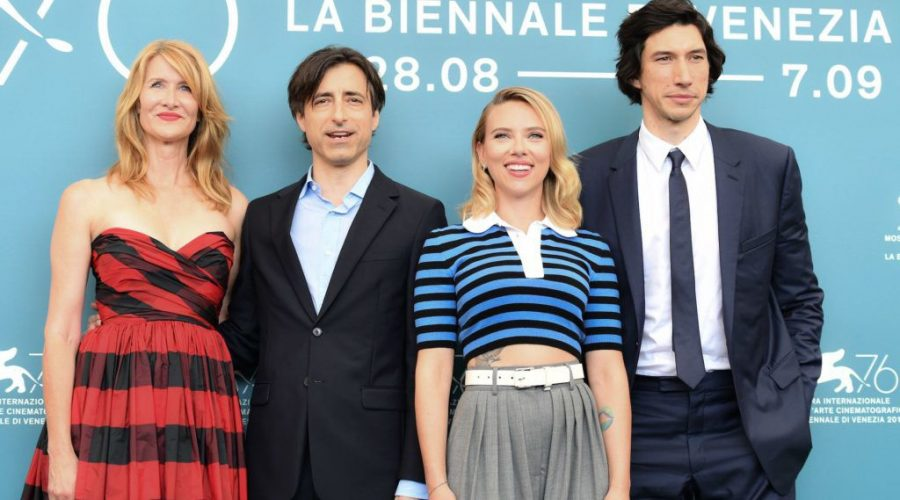 From+left%3A+Laura+Dern%2C+Noah+Baumbach%2C+Scarlett+Johansson+and+Adam+Driver+at+the+Venice+Film+Festival%2C+Aug.+29%2C+2019.+%28Alberto+Pizzoli%2FAFP+via+Getty+Images%29