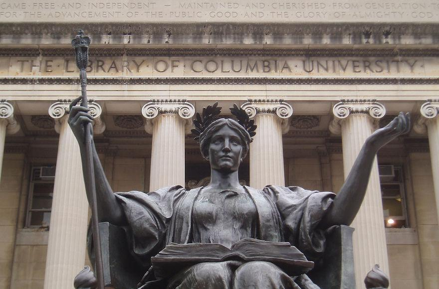 The+alma+mater+statute+on+the+Columbia+University+campus+%28Wikimedia+Commons%29