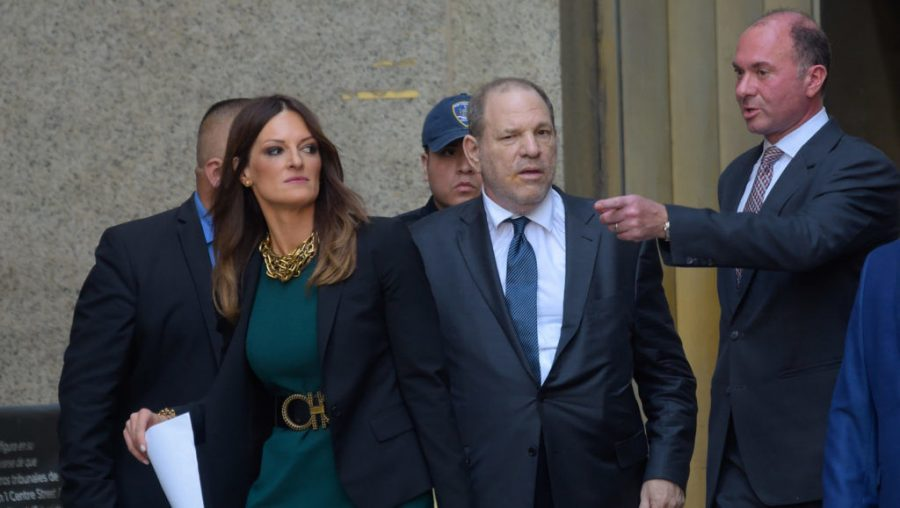 Harvey+Weinstein+and+Donna+Rotunno+leaving+a+Manhattan+court%2C+July+11%2C+2019.+%28Raymond+Hall%2FGC+Images%29