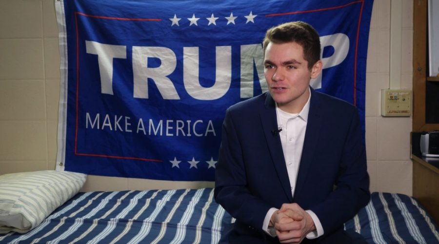 Nick+Fuentes+answers+question+during+an+interview+with+Agence+France-Presse+in+Boston%2C+May+9%2C+2016.+%28William+Edwards%2FAFP+via+Getty+Images%29