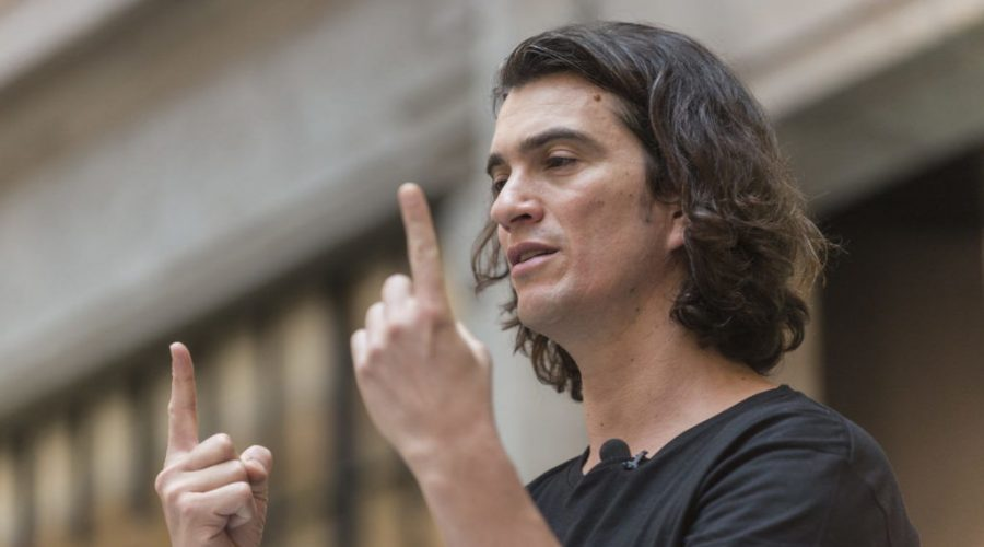 WeWork+founder+Adam+Neumann+speaks+in+Shanghai%2C+China%2C+April+12%2C+2018.+%28Jackal+Pan%2FVisual+China+Group+via+Getty+Images%29