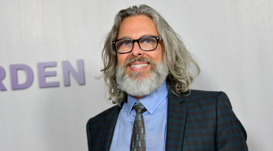 Michael Chabon at the Hammer Museum in Los Angeles, Oct. 14, 2018. (Emma McIntyre/Getty Images for Hammer Museum)