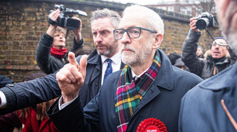 Labour+Party+Leader+Jeremy+Corbyn+leaves+a+polling+station+after+voting+in+the+general+elections+in+London%2C+Dec.+12%2C+2019.+%28Yunus+Dalgic%2FAnadolu+Agency+via+Getty+Images%29