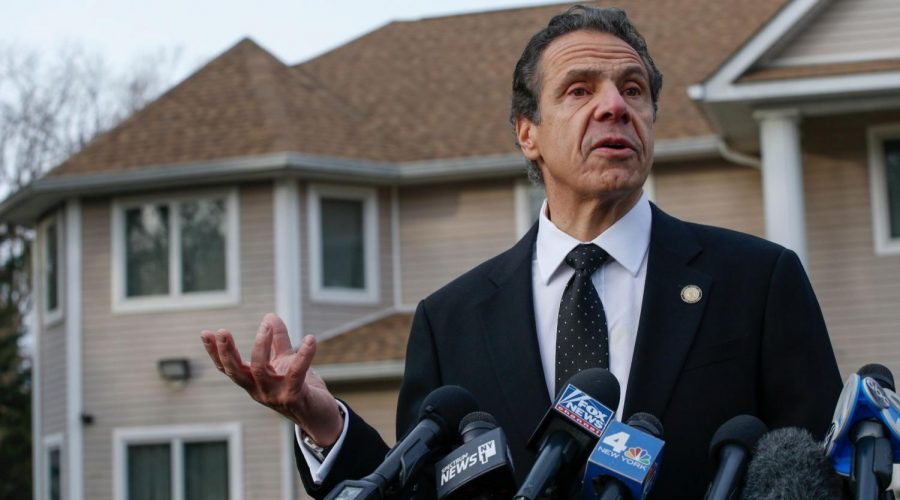 New+York+Gov.+Andrew+Cuomo+talks+to+reporters+outside+the+home+of+Rabbi+Chaim+Rottenberg+in+Monsey%2C+NY+on+Dec.+29%2C+2019%2C+the+morning+after+an+assailant+wielding+a+machete+entered+the+home+and+began+attacking+local+Jews+attending+a+Hanukkah+party%2C+leaving+five+injured%2C+two+seriously.+%28Kena+Betancur%2FAFP+via+Getty+Images%29
