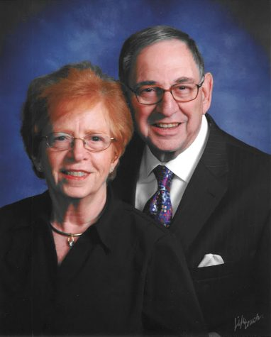 Sara and Marshall Myers were married 57 years. Sara Myers died of Alzheimer's Aug. 2, 2018. Her family has established a memorial fund in her name to support research on dementia.