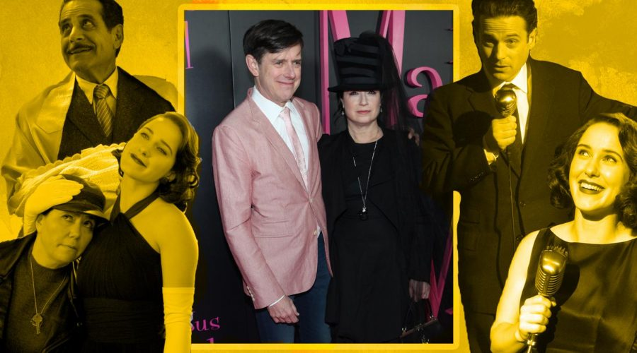 Dan+Palladino+and+Amy+Sherman-Palladino+are+the+husband+and+wife+team+behind+%22The+Marvelous+Mrs.+Maisel.%22+%28Steve+Zak+Photography%2FGetty+Images%2FAmazon+Prime%29