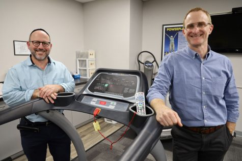 Jonathan Gordon, at left,  and Jonty Felsher, founded RPI Therapy Services. Photo: Bill Motchan