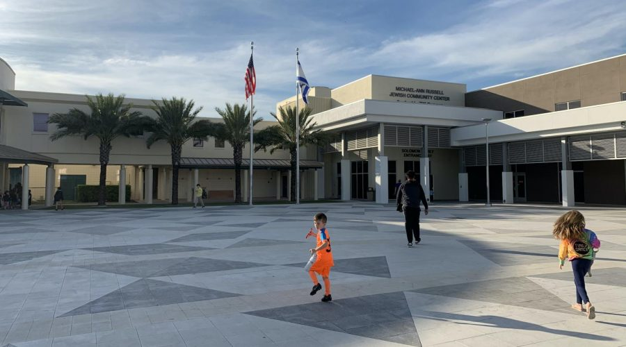 The Michael-Ann Russell Jewish Community Center in Miami is popular among Latin American Jews. (Josefin Dolsten)