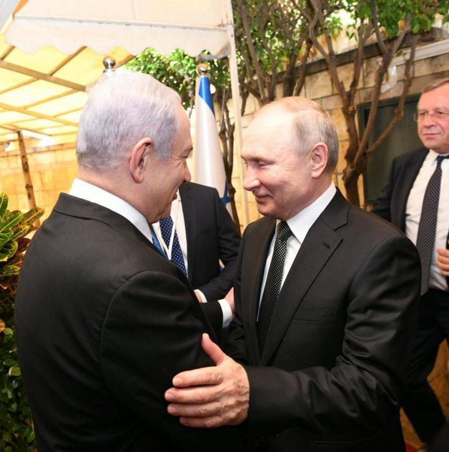 Russian+President+Vladimir+Putin%2C+right%2C+meets+with+Israeli+Prime+Minister+Benjamin+Netanyahu+in+Jerusalem%2C+Jan.+23%2C+2020.+%28Amos+Ben-Gershom%2FGPO%29