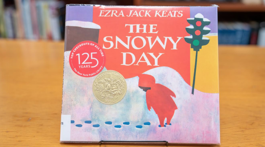 Ezra+Jack+Keats%27+book+%22The+Snowy+Day%22+is+credited+with+breaking+the+diversity+barrier+in+children%27s+publishing.+%28New+York+Public+Library%29