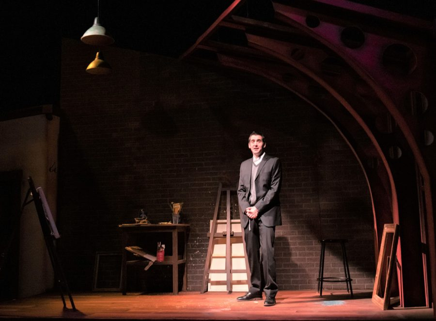 """Spencer Sickman stars in """"My Name Is Asher Lev' at the New Jewish Theatre.Photo: Greg Lazerwitz"""