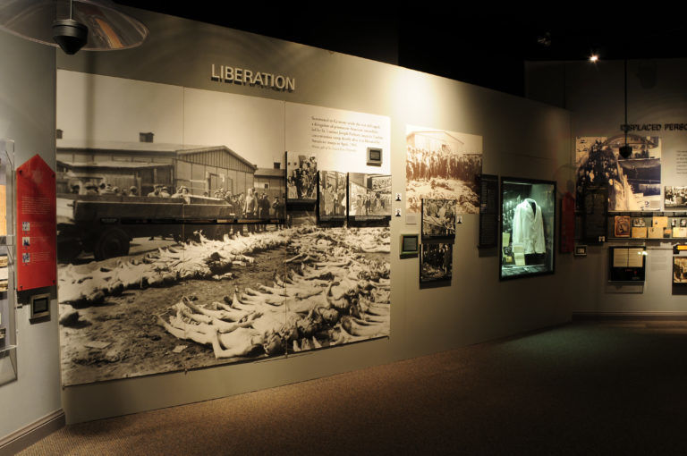 Exhibit from St. Louis Holocaust Museum & Learning Center