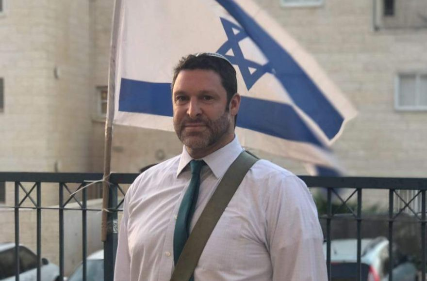 Israel+activist+Ari+Fuld+in+a+photo+from+his+Facebook+page.+%28Facebook%29