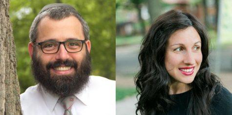 Rabbi Hershey Novack (left) and Rabbi Chana Novack (right)