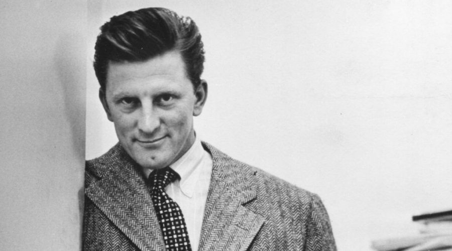 Portrait+of+American+actor+Kirk+Douglas+as+he+poses+with+his+hands+in+his+pockets%2C+1950.+%28Photo+by+PhotoQuest%2FGetty+Images%29