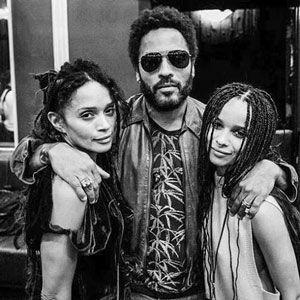 Lisa Bonet, Lenny Kravitz, Zoe Kravitz