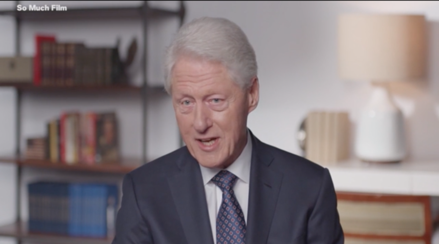 Bill+Clinton+speaks+in+a+clip+from+%22Viral%3A+Antisemitism+in+Four+Mutations.%22+%28Screenshot+from+Newsweek%29%C2%A0