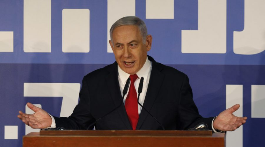 Israeli+Prime+Minister+Benjamin+Netanyahu+at+his+residence+in+Jerusalem.+Netanyahu+calls+the+indictment+allegations+against+him+a+%22witch+hunt.%22+Photo%3A+Gali+Tibbon%2FAFP+via+Getty+Images
