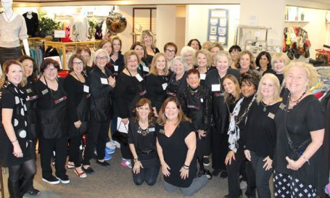 National Council of Jewish Women St. Louis held its 53rd year of its Couturier Sale at The Resale Shop from Oct. 26-31. Above are NCJW St. Louis staff, lay leaders and volunteers who helped make the sale a success.