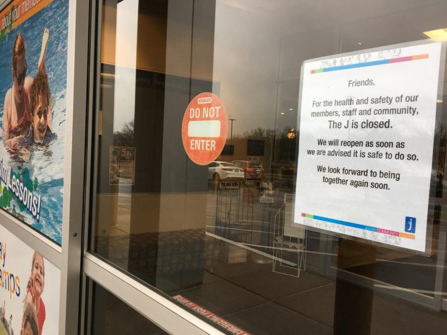 The+Jewish+Community+Center+near+Creve+Coeur+%E2%80%94+along+with+its+Chesterfield+location+%E2%80%94+closed+at+6+p.m.+March+17.+Photo%3A+Eric+Berger
