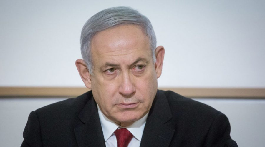 Benjamin+Netanyahu%2C+seen+on+Nov.+12%2C+2019%2C+is+the+first+sitting+Israeli+prime+minister+to+be+indicted.+Photo%3A+Miriam+Alster%2FFlash90