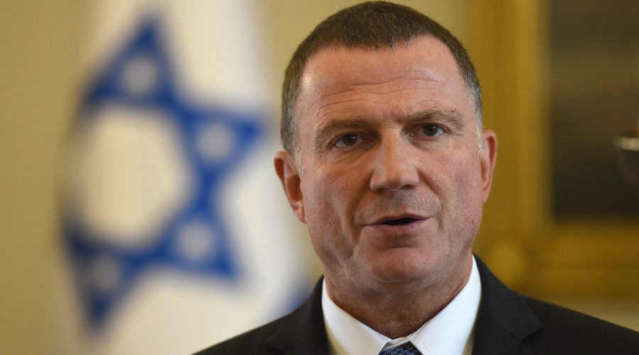 Knesset+Speaker+Yuli+Edelstein%2C+seen+in+2017%2C+is+being+accused+of+undermining+Israeli+democracy+in+order+to+stay+in+power.+The+Likud+lawmaker+says+he+is+protecting+democracy.+%28Maciej+Gillert%2FGetty+Images%29