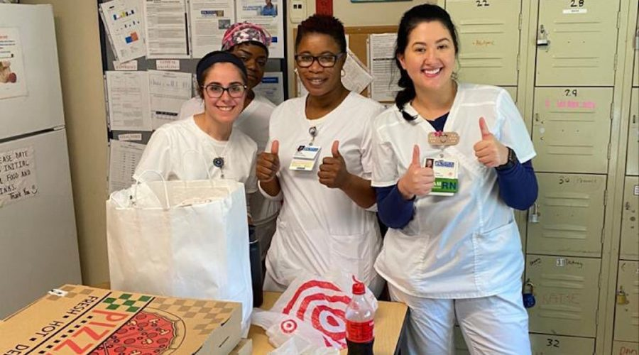 Journalist Bethany Mandel started an initiative that delivers kosher meals to observant Jewish health care providers and their colleagues. (Courtesy of Mandel)