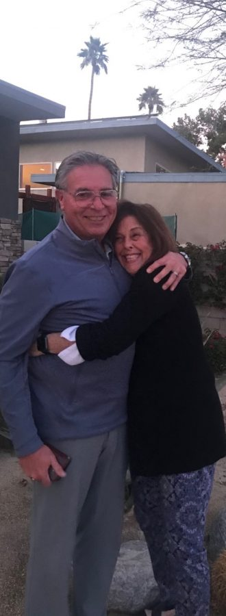 Jane Weinhaus and her husband, Michael, are both recovering from the coronavirus.