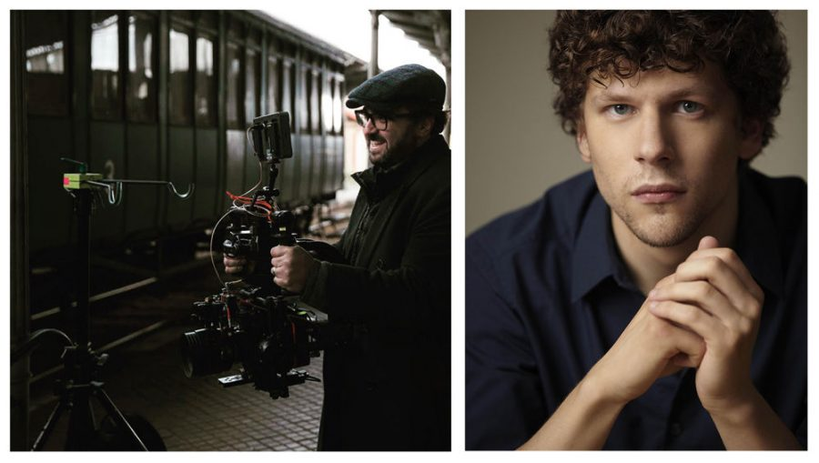 Writer/director Jonathan Jakubowicz, left, and actor Jesse Eisenberg, right, will take part in a Zoom discussion about their film