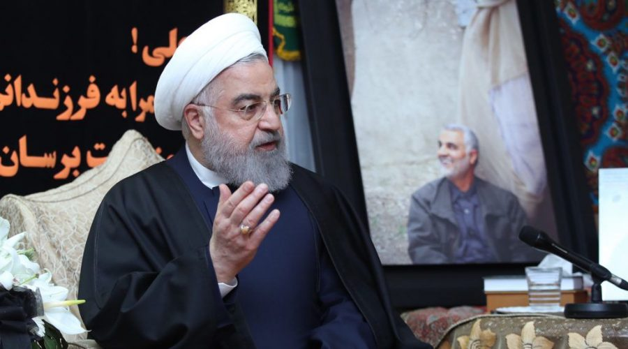 Iranian+President+Hassan+Rouhani%2C+shown+in+January+2020%2C+ordered+the+implementation+of+a+law+that+%22calls+for+action+against+Israel%E2%80%99s+%E2%80%9Cwarmongering+and+terrorist+moves.%22+%28Iranian+Presidency%2FHandout%2FAnadolu+Agency+via+Getty+Images%29
