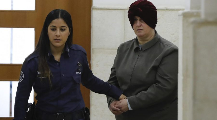 Malka+Leifer%2C+a+former+Australian+teacher+accused+of+dozens+of+cases+of+sexual+abuse+of+girls+at+a+school%2C+arrives+for+a+hearing+at+the+District+Court+in+Jerusalem%2C+Feb.+27%2C+2018.+Photo%3A+Ahmad+Gharabli%2FAFP+via+Getty+Images