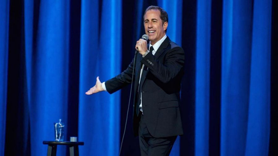 Jerry+Seinfeld+stars+in+a+new%C2%A0comedy%C2%A0special+on%C2%A0Netflix.%C2%A0%C2%A0