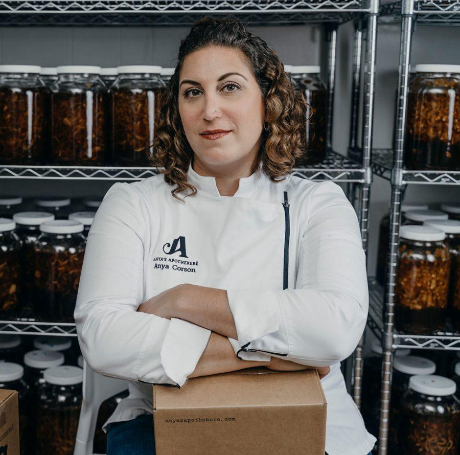 Anya Corson started her fermented honey business,Anya's Apothekere, around her mother's dining room table in 2017. In three years it's grown into a thriving enterprise, selling to major grocery chains, Amazon, as well as on her website, anyasapothekere.com.