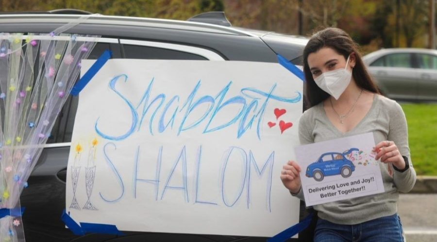 Jewish+students+brought+flowers%2C+signs+and+good+cheer+to+staff+appreciation+day+at+Jewish+Senior+Services%2C+a+long-term+care+facility+in+Bridgeport%2C+Conn.+%28Margery+Verlezza%29