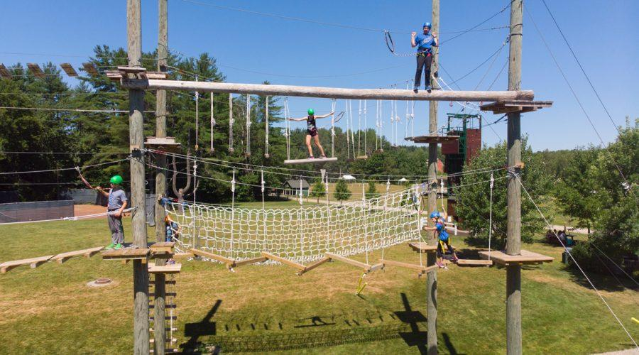 The+ropes+course+at+Camp+Modin%2C+which+has+seen+immense+interest+from+parents+since+announcing+last+month+that+it+was+opening+this+summer.+%28Courtesy+of+Camp+Modin%29