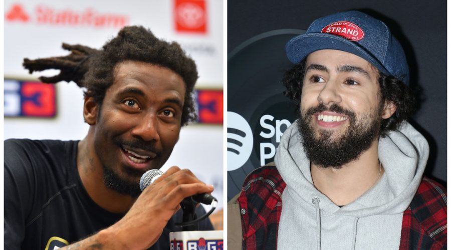 Amar%27e+Stoudemire%2C+left%2C+talked+about+his+Jewish+spirituality+in+an+interview+with+Ramy+Youssef.+%28Ed+Zurga%2FBIG3%2FGetty+Images%3B+Jim+Spellman%2FWireImage%2FGetty+Images%29%C2%A0