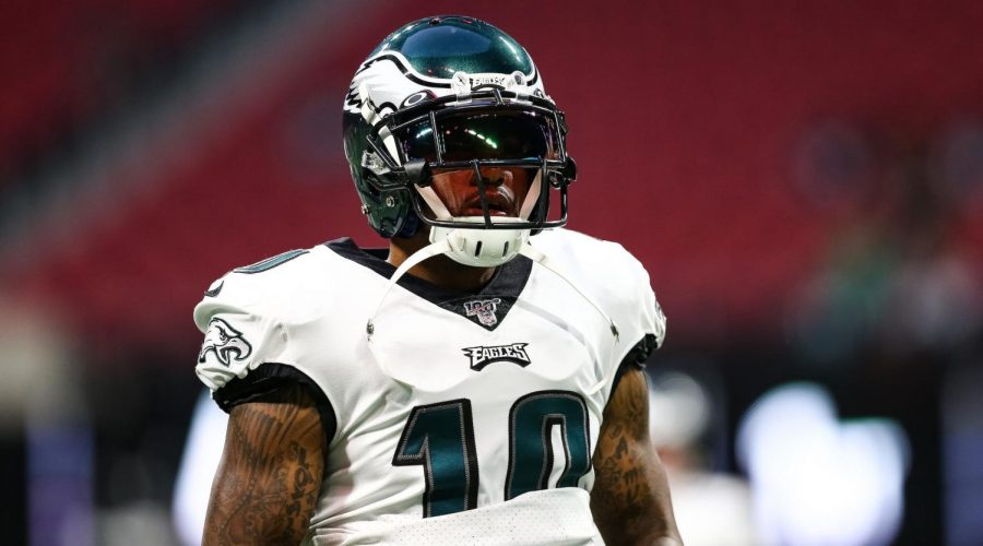 DeSean+Jackson+warms+up+before+a+game+against+the+Atlanta+Falcons+at+Mercedes-Benz+Stadium+in+Atlanta%2C+Sept.+15%2C+2019.+%28Carmen+Mandato%2FGetty+Images%29
