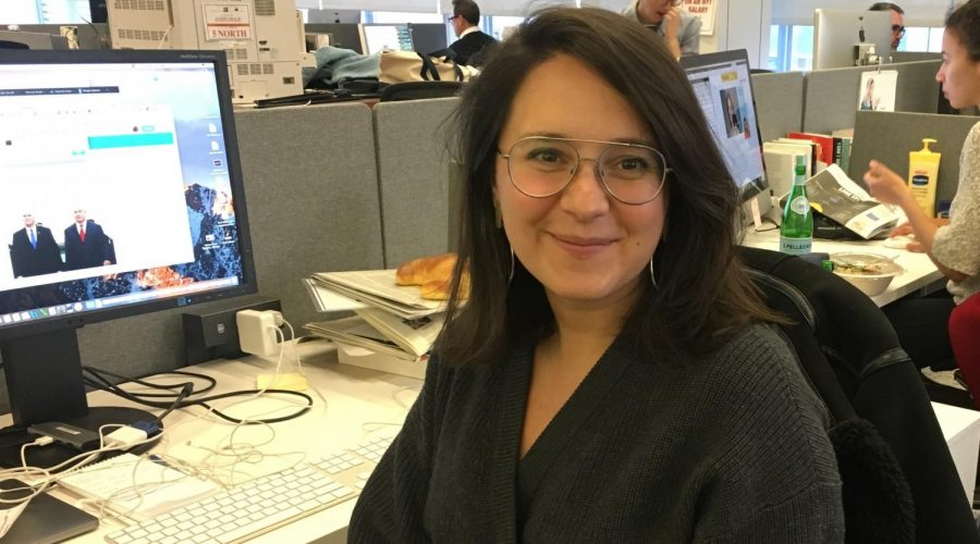 Bari Weiss, guest speaker at L'Chaim event