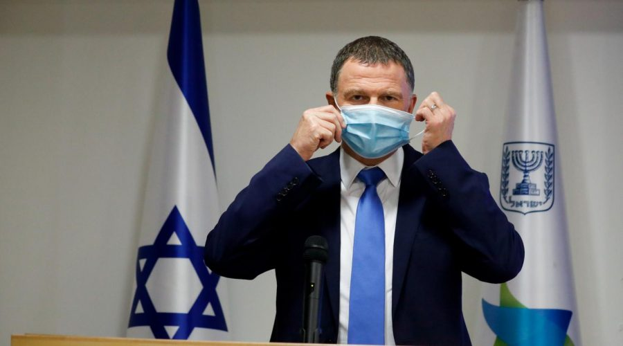 Israeli+Health+Minister+Yuli+Edelstein+at+a+press+conference+about+the+coronavirus+in+Jerusalem%2C+July+6%2C+2020.+%28Olivier+Fitoussi%2FFlash90%29%C2%A0