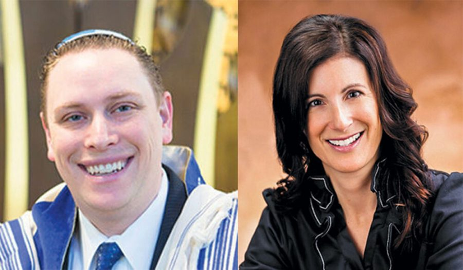 Rabbi+Jeffrey+Abraham%2C+left%2C+and+Rabbi+Elizabeth+Hersh%2C+right%2C+will+both+teach+courses+at+the+Melton+School+for+Adult+Jewish+Learning+this+fall.