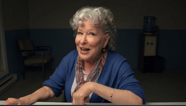 Bette Midler stars in HBO's new film 'Coastal Elites.'