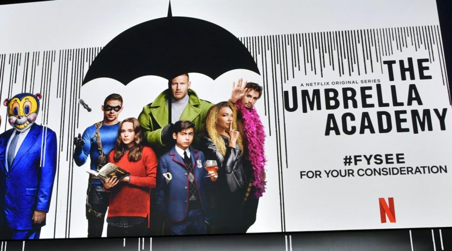 An+%22Umbrella+Academy%22+screening+at+Raleigh+Studios+in+Los+Angeles%2C+May+11%2C+2019.+Photo%3A+Emma+McIntyre%2FGetty+Images+for+Netflix