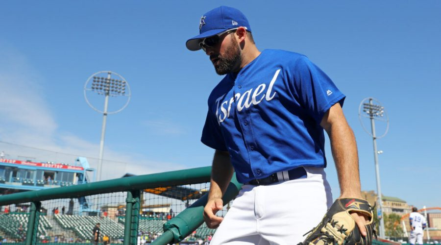Cody+Decker+playing+for+Team+Israel+in+a+2016+World+Baseball+Classic+qualifier+game+at+MCU+Park+in+Brooklyn%2C+N.Y.%2C+Sept.+23%2C+2016.%C2%A0